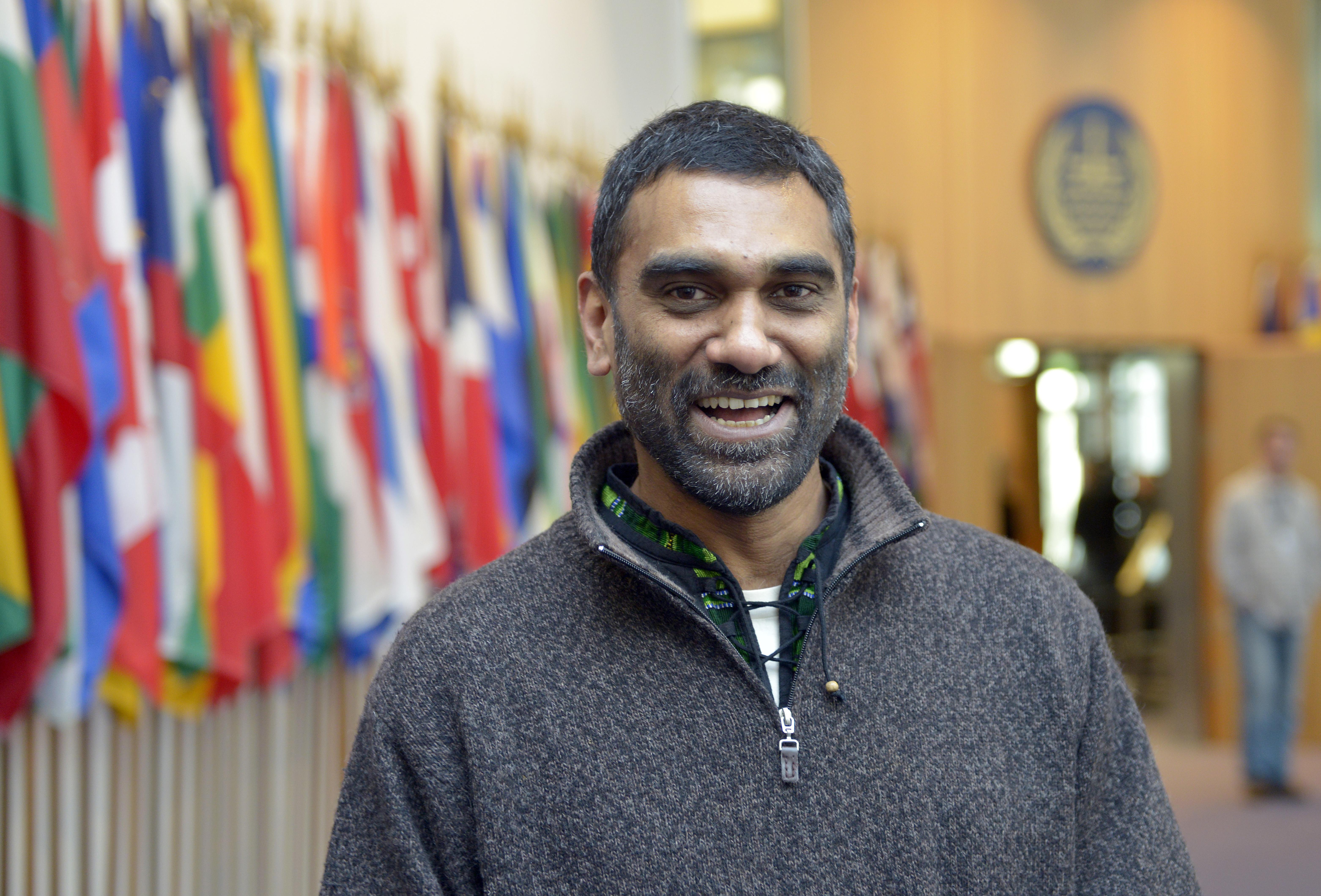 Kumi Naidoo, secrétaire générale d'Amnesty International
