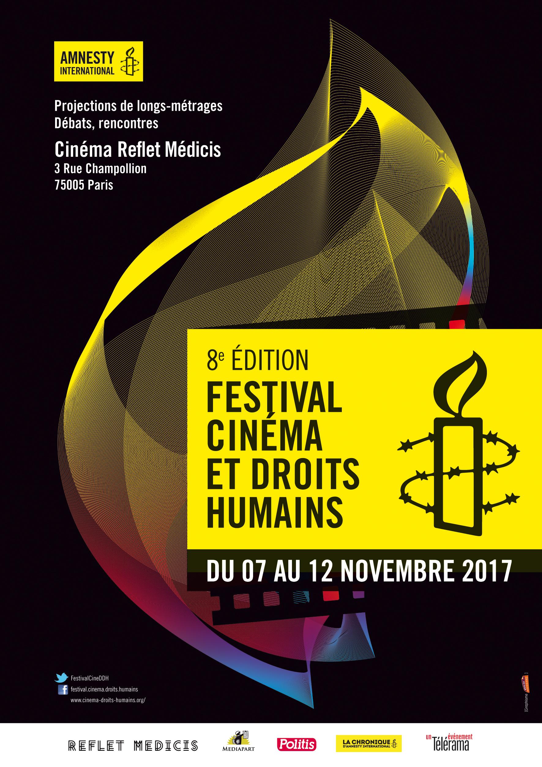 Célèbre Festival Cinéma et droits humains à Paris - Amnesty International  ZL06