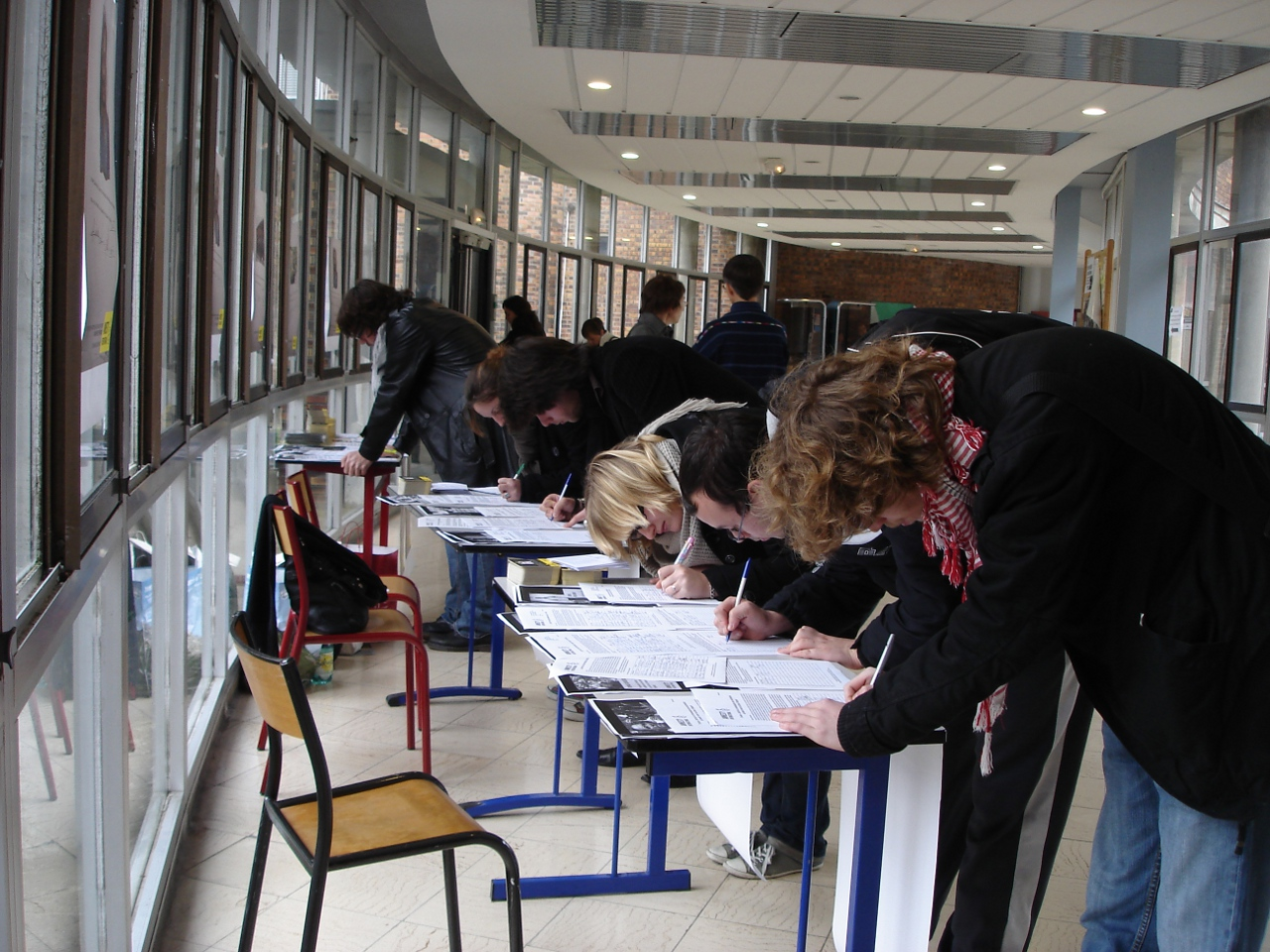 Signatures à l'université