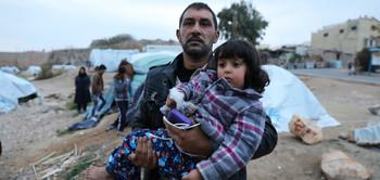 """Résultat de recherche d'images pour """"Réfugiés sur l'île de Chios en Grèce © Giorgos Moutafis/Amnesty International"""""""