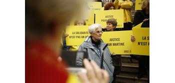 Conférence sur le délit de solidarité à Paris
